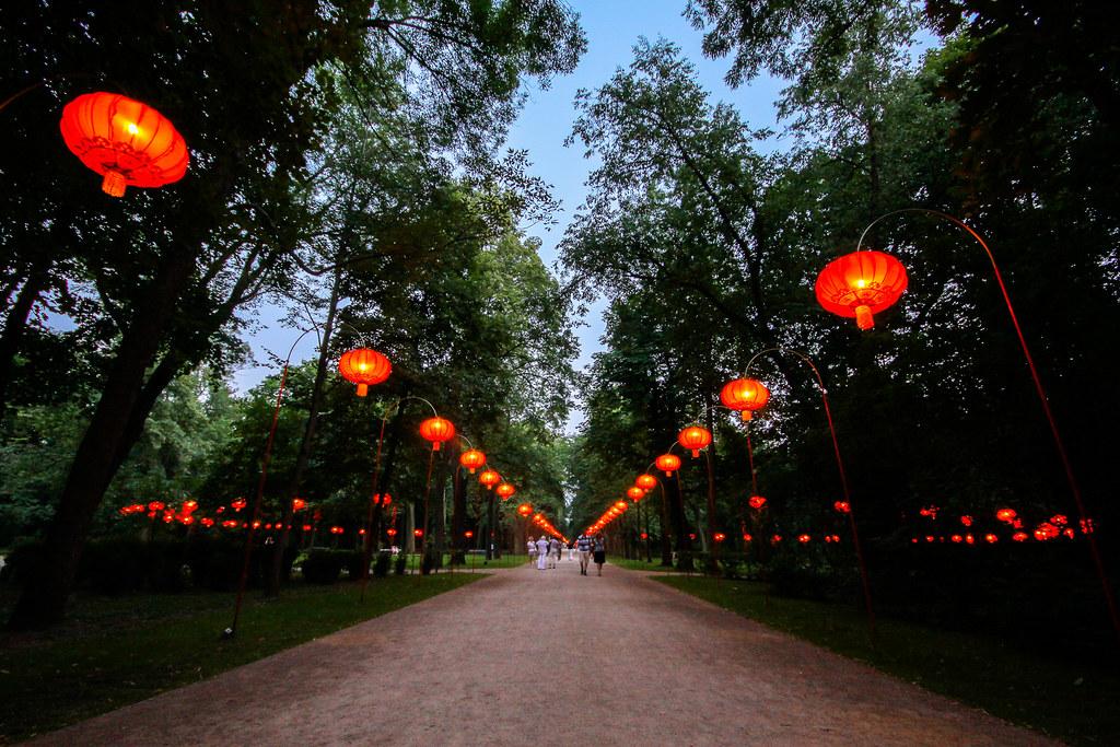 Chińska Aleja Chinese Alley Chińska Aleja Powstała Z Ini