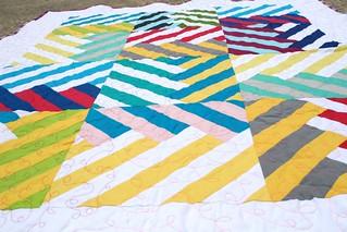 Herringbone quilt: DGS
