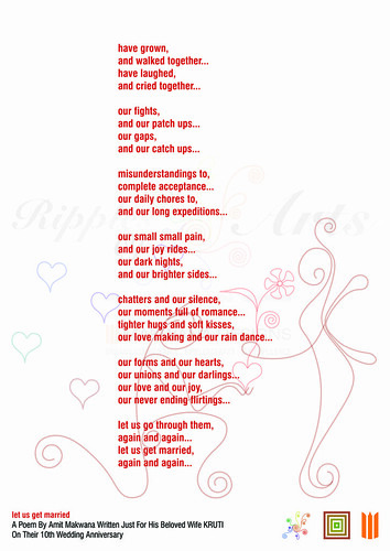 let us get married A Poem For Blogs | by Amit Makwana