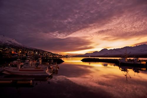 morning sky reflection clouds sunrise boats iceland village harbour ísland bátar ský himinn speglun morgunn explored höfnin sólarupprás fáskrúðsfjörður faskrudsfjordur þorp jónínaguðrúnóskarsdóttir