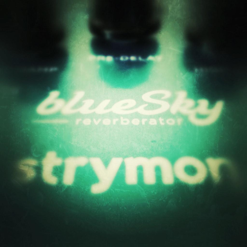 strymon blue sky reverb greeny filter ed rotheram flickr. Black Bedroom Furniture Sets. Home Design Ideas
