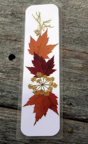 Family Workshop: Leaf Collage Bookmarks