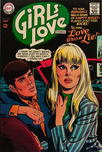 JIM PIKE (Jay Scott Pike)   GIRLS LOVE STORIES 129 : By