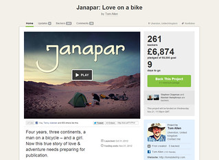 Kickstarter Screenshot | by tomsbiketrip.com