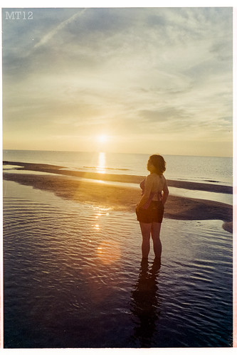sunset summer ontario canada film beach water 35mm afternoon matthew things shallow kailey lookingback 2012 grandbend trevithick portfranks mamiyadsx1000 lambtonshores matthewtrevithick mtphotography