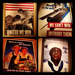 Vintage war posters at the Works War II Museum in New Orleans | by Downtown Traveler