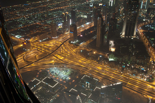 burj khalifa at the top - dubai