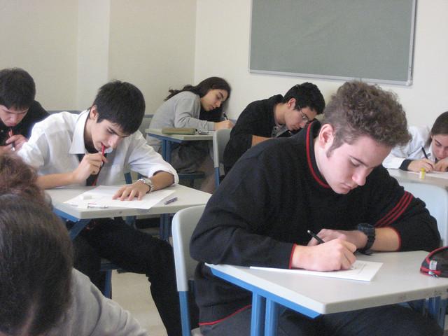 Students Taking Quiz