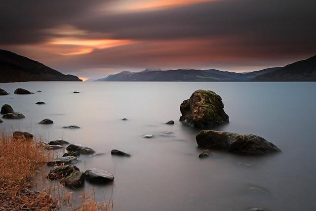 Evening L E, Loch Ness.
