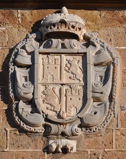 Granada. Cartuja. Iglesia. Escudo