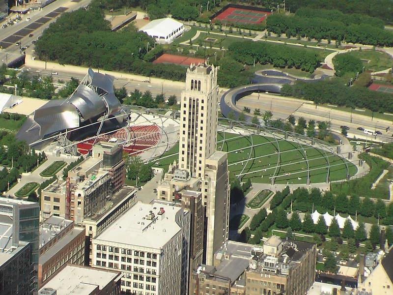 Chicago's Millenium Park (pingnews)
