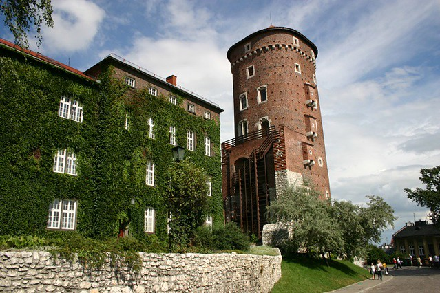 Wavel Castle - Krakow, Poland, 2006.