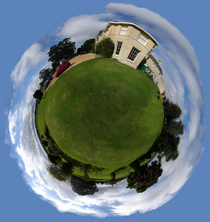 Country manor 360 polar panorama | by strollerdos