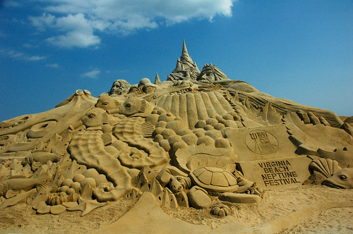 The Tallest Sand Sculpture - Set Guinness Record | by Beadmobile