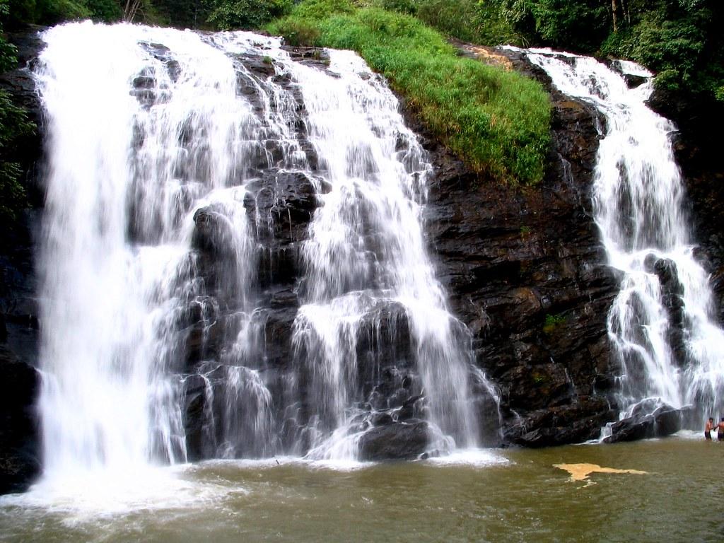Cascading abbey falls