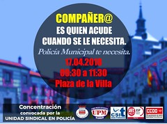 Concentración 17/4/2018 (Madrid)