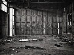 Old garage door                                                Winschoten | the Netherlands