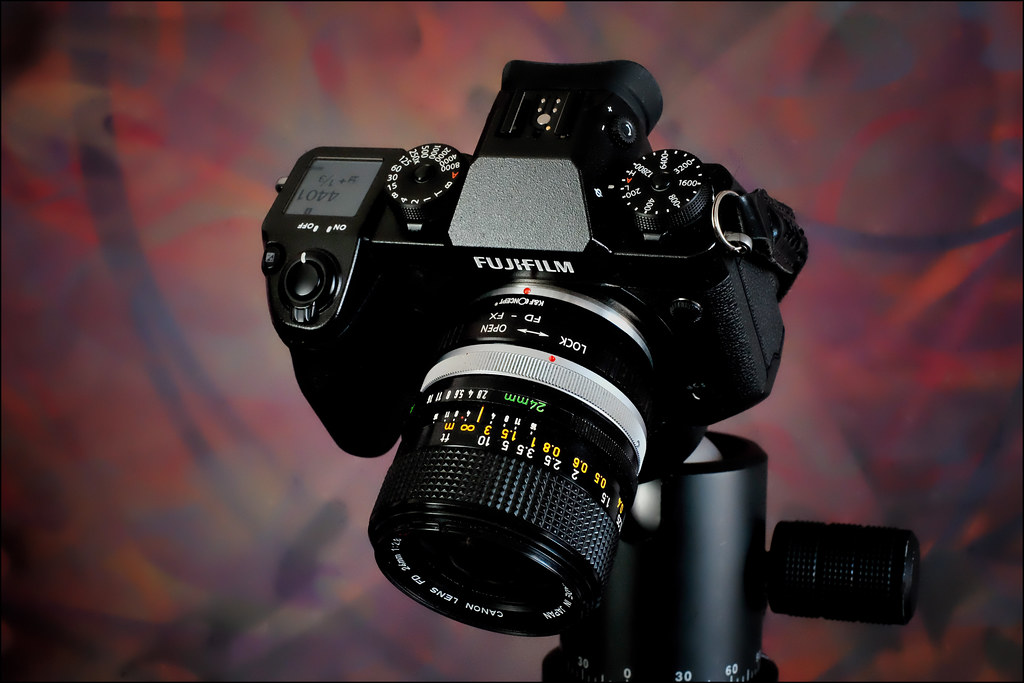 Fujifilm X-H1 with Canon FD 24mm f2 8 S S C  | K&F Concept F… | Flickr