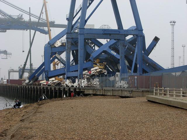 The Port of Felixstowe