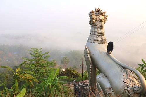 canonm6 rakhine thandwe lion morning misty