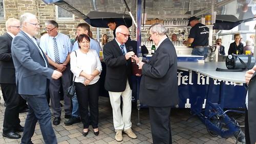 6.8.17 Kapellenverein gratuliert Pastor Fechler zum Jubiläum (1)