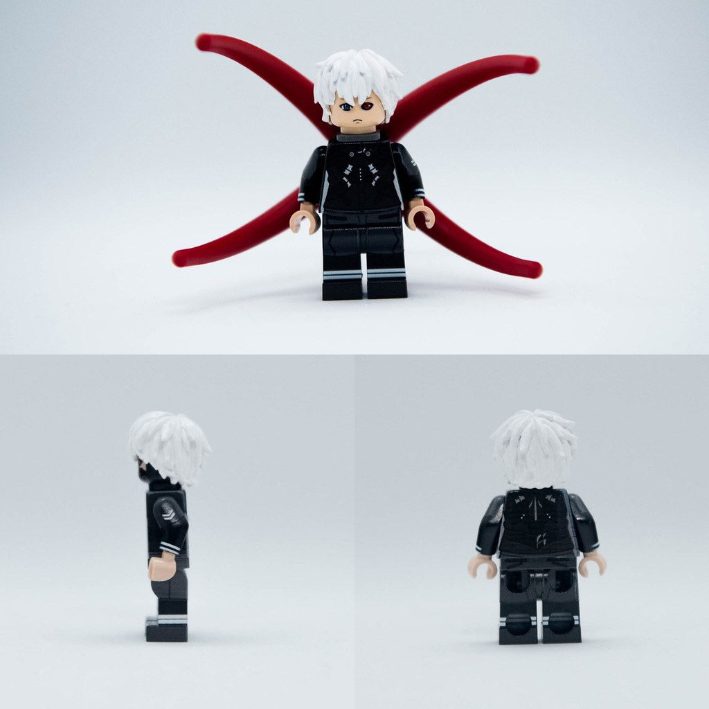 Tokyo Ghoul:Kaneki Ken:)I only did the hair part,and m