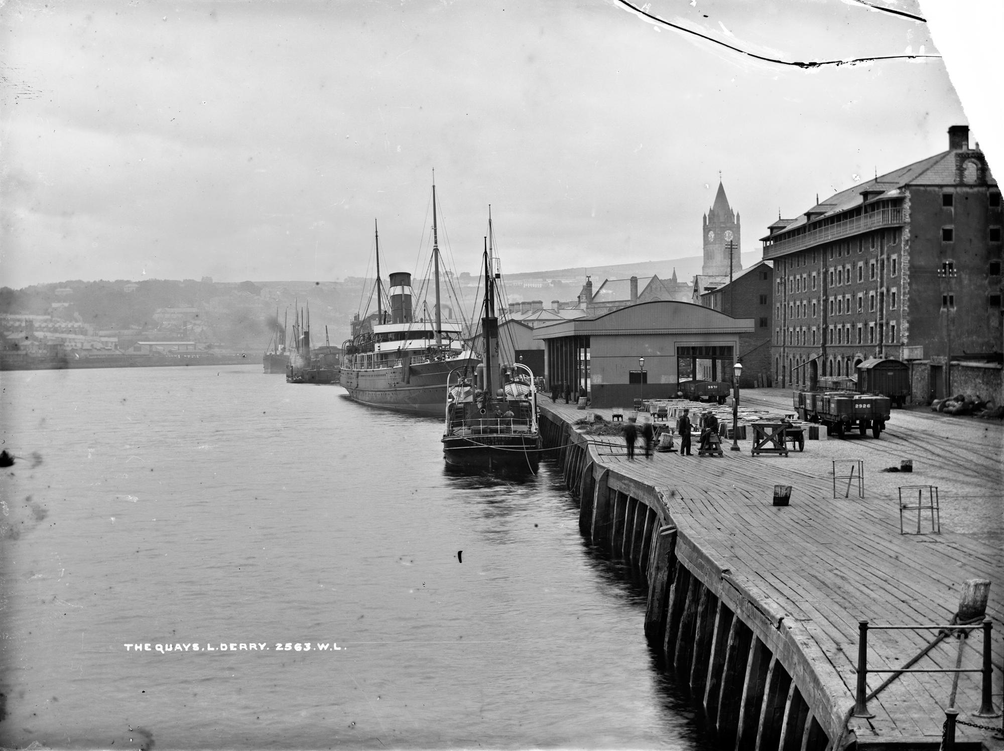 Quays, Derry City, Co. Derry