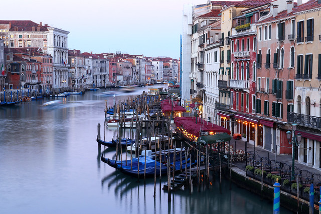 Early morning on Canal Grande, Venice