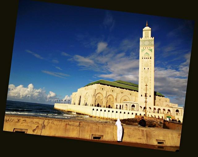 Marokko ,  Casablanca, Hassan II-Moschee, 1-3/1605