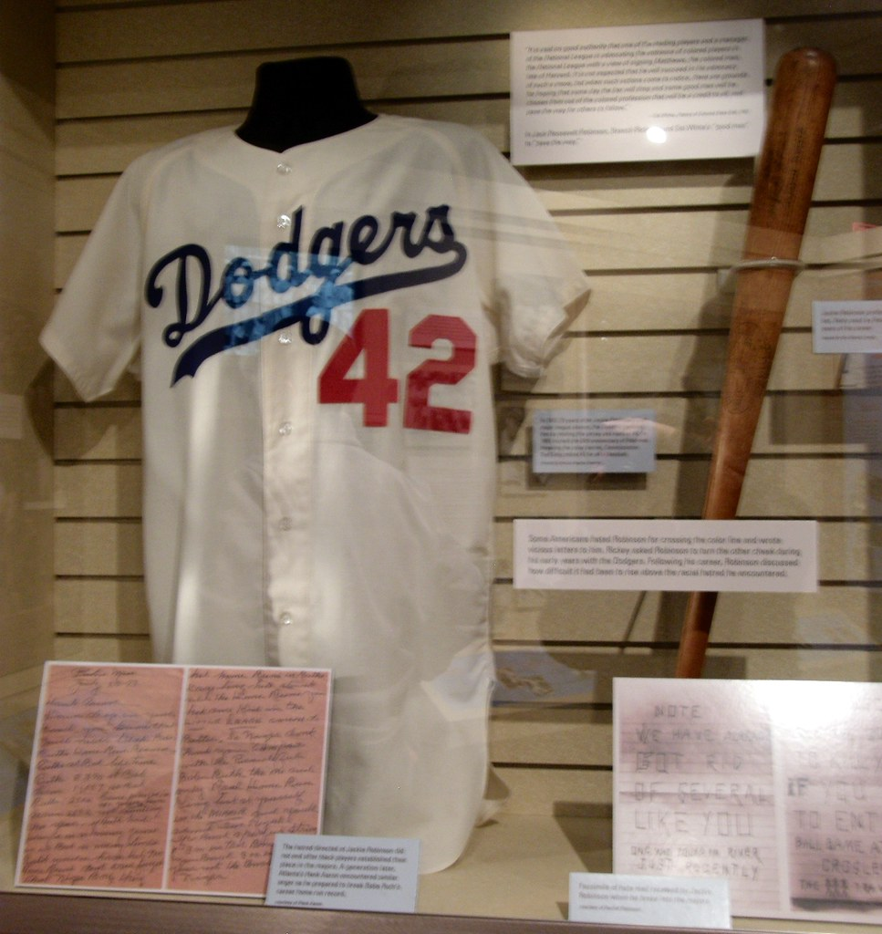 outlet store 507ca 3c54e National Baseball Hall of Fame: Jackie Robinson Jersey and ...