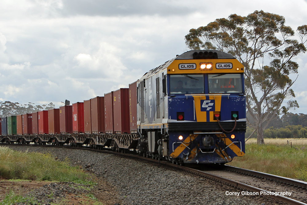 GL105 POTA container from Horsham by Corey Gibson