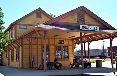 Roseville Amtrak station California
