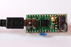 Teensy backpack for the HDS2111 LED display