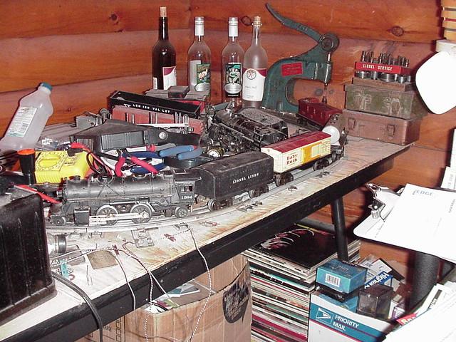Pre-War Lionel Train Set: 1684 1689 2679 2680 2682