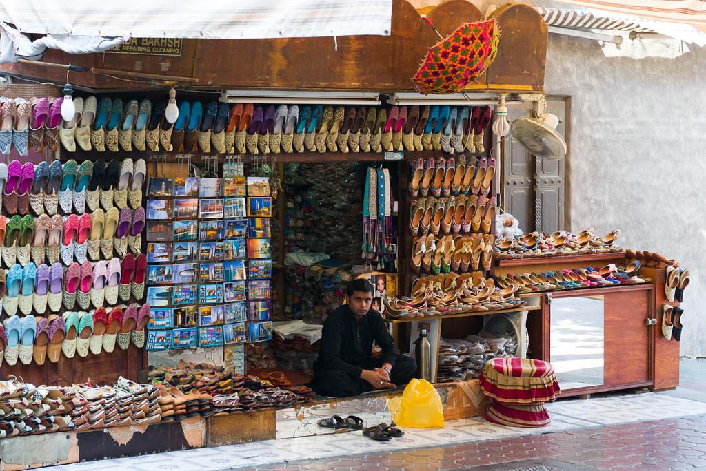 Shoe shop near Indian Textile Market, Dubai | The Food
