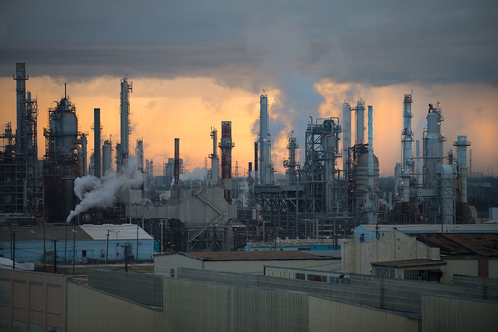 photo of petrochemical plant