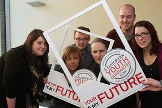 Labour Youth members at Dublin Youth Guarantee seminar