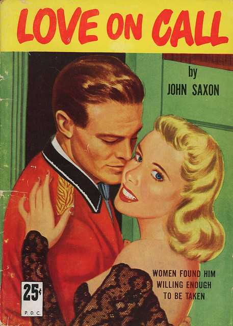 Griffin Books No#-1 - John Saxon - Love on Call