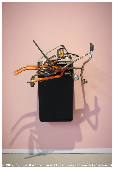 Marc Bijl   Composition with Bicycle and Trash Can (2000)
