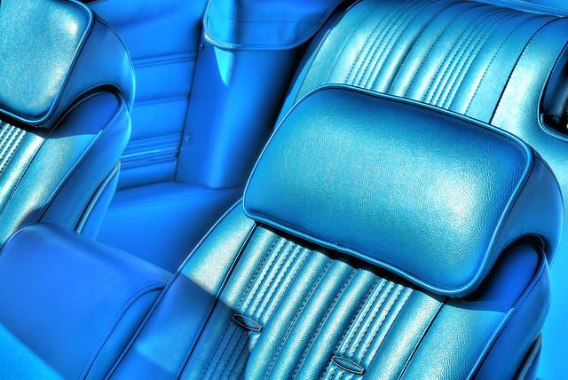 Chevelle Convertible Interior HDR