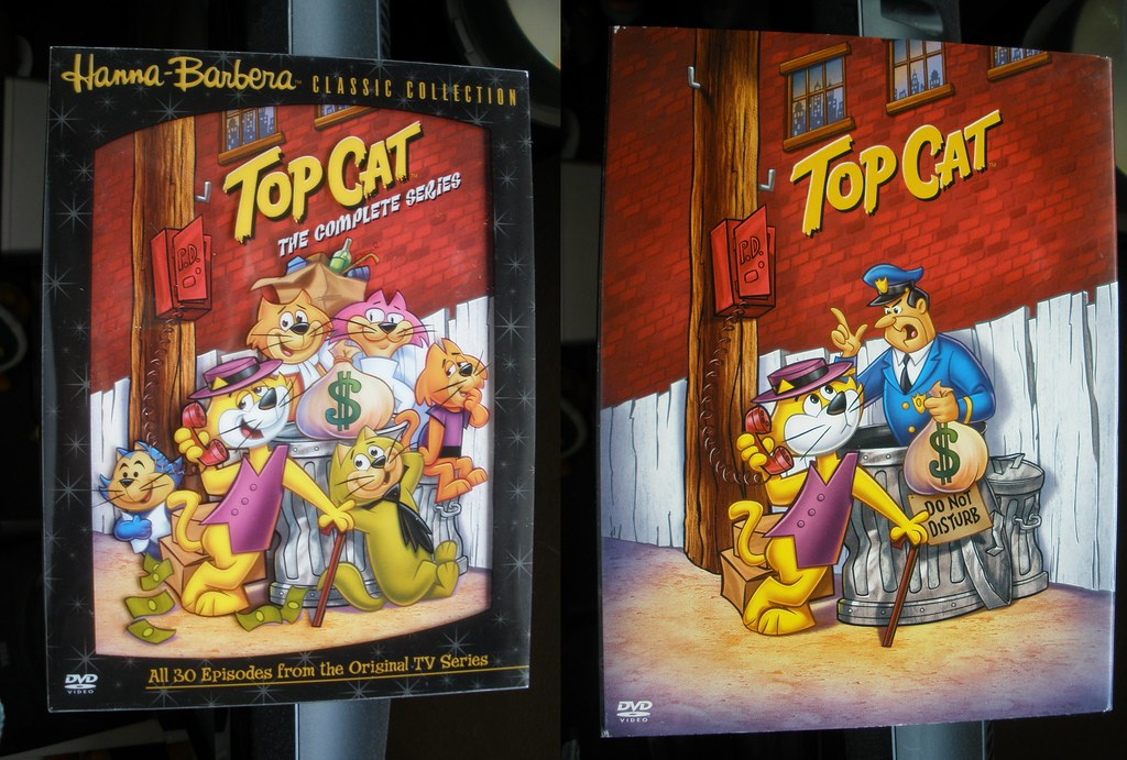 All sizes | Top Cat DVD boxset - Complete Series - Front with