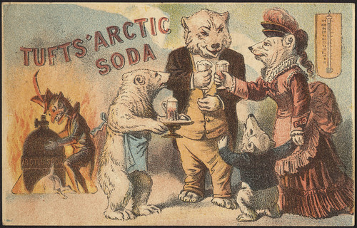 Tufts' Arctic Soda [front] | by Boston Public Library