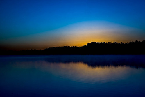 lake water night sunrise unitedstates steam clear arkansas fayetteville fogg