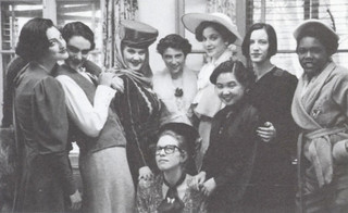 """Maria Irene Fornes' drama """"Fefu and Her Friends"""" was the final theatre production of the 1993-94 season. It was performed with an all-female cast at Scripps' Browning Hall because it resembled the play's setting. The play was directed by Betty Bernhard."""