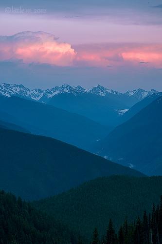 sunset portangeles sequim layers olympics nationalparks olympicnationalpark peaceonearth hurricaneridge theop