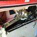 Inside of Ferrari f430 door