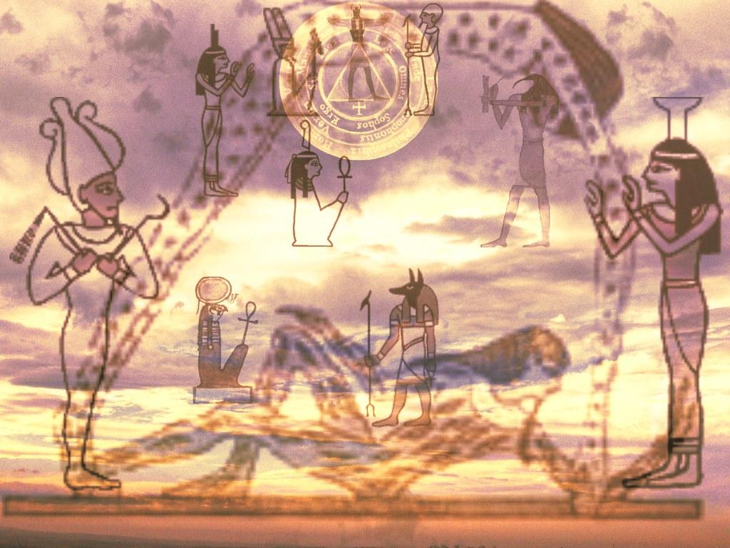 Egyptian Gods Image Of Heaven Image Of Heaven Ancient E