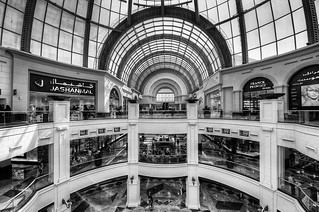 Mall of the Emirates BW | by gerhard.rasi