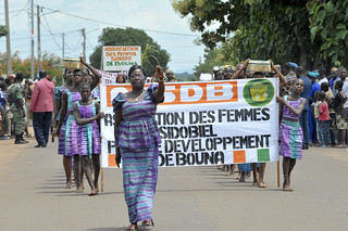 Jean paul Vogel, Marietou KONE -Journé nationale de la solidarité a Bouna | by L'Opération des Nations Unies en Côte d'Ivoire