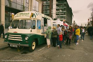 1964 Austin LD Ice Cream Van